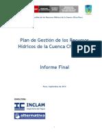 Plan de Gestion de Recursos Hidricos de La Cuenca Chira-piura 0 0