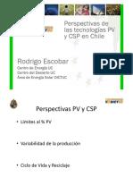 Presentación Centro de Energía UC - Tecnologías PV y CSP en Chile