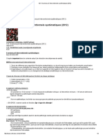 FS - Examens Pré Interventionnels Systématiques (2012)