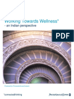 India Working Towards Wellness