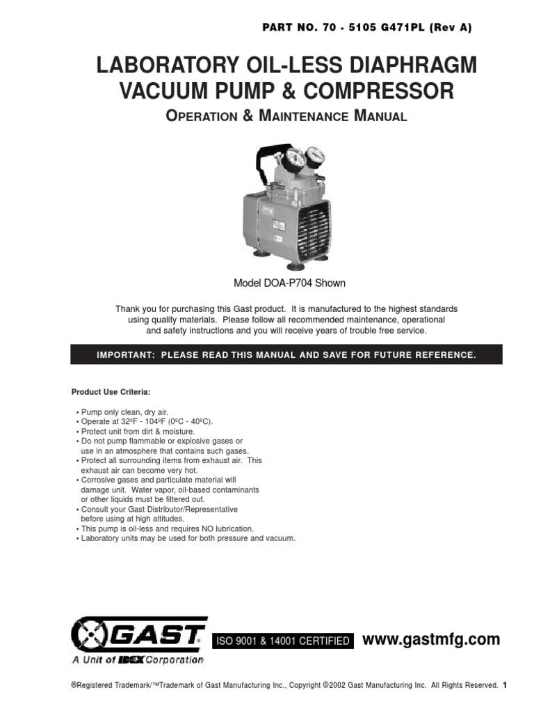 508 gast vacuum pumps wiring diagram | wiring resources  wiring resources