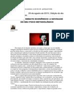 Trotski e o debate econômico