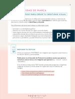 Guia Gratis Tips Recursos Para Crear Tu Identidad Visual