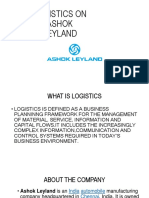 LOGISTICS ON ASHOK LEYLAND.pptx