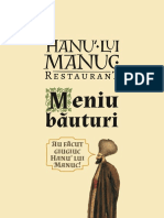 Hanu' Lui Manuc Drinks Menu