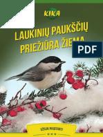 El Knyga Laukiniu Pauksciu Prieziura Ziema