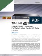 TL-SG3424P V2 Datasheet
