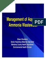 Woodbury.ammoniaWastewater Woodbury