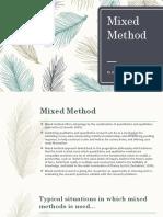 Mixed Method
