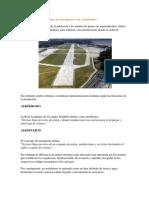 Cúal Es La Diferencia Entre Un Aeropuerto y Un Aeródromo