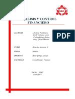 Analisis y Control Financiero r