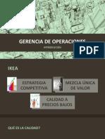 Gerencia de Operaciones Gdo