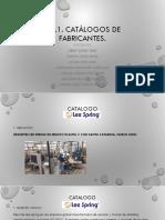 3.5.1. Catálogos de Fabricantes.