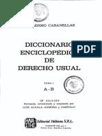 BELM-13969(Diccionario Enciclopédico de Derecho -Cabanellas)