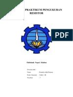 Laporan Praktikum Pengukuran Resistor