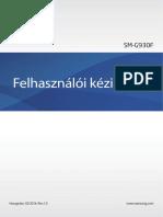 Samsung Galaxy S7 Manual SM G930 Marshmallow Hungarian Language
