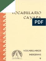 diccionario cayapa