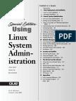 Arman Danesh, Gautam Das-Special Edition Using Linux System Administration (Special Edition Using)-Que (2000)