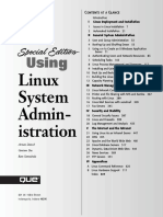 Arman Danesh, Gautam Das-Special Edition Using Linux System Administration (Special Edition Using)-Que (2000)