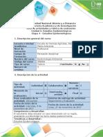 Guia de Actividades Unidad 3 Etapa 4 Estudios Epidemiologicos
