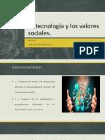 La Tecnología y Los Valores Sociales. Retos Del Desarrollo Nacional