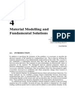 Material Modelling and Fundamental Solutions