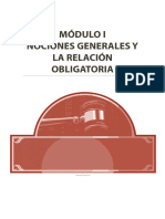 Derecho Civil III (Obligaciones) - Módulo I