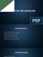 Medicion de Angulos