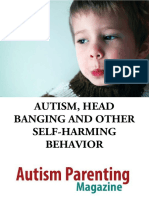 Autism Self Harming Behavior