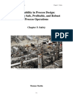 Operability in Process Design Chapter 5 Safety