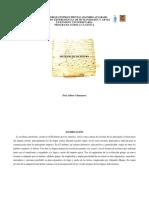 Programa Didáctico, Sistemas de Escritura