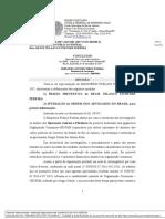 Decisão do juiz federal Marcelo Bretas decretando a prisão preventiva de Régis Fichtner