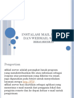 Instalasi Mail Server Dan Webmail Server