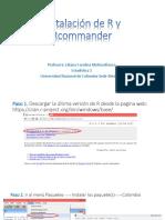 Clase 3. Instalación de R y Rcommander Para Enviar