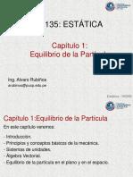 CAPITULO 1 Equilibrio de La Partícula