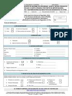 Formato Recall INVIMA