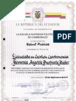 Titulos y Certificados