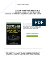 What It Takes_ the Secrets of Becoming a Successful Trader_ Eddie z Interviews the Masters of Trading by Russ Hazelcorn, Eddie z