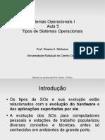 06 - Tipos de Sistemas Operacionais