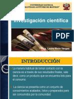 3. Investigación Científica