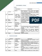 Esquema de Anexo Indicadores test grafico tecnicas proyectivas