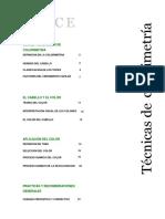Tecnicas de Colorimetria PDF