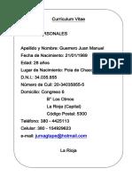 Curriculum JuanMa UNLAR 1.