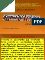 Expedientes Tecnicos- Ia Coreegido 2017