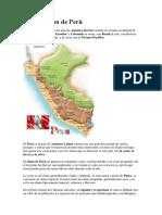 Introducción de Perú