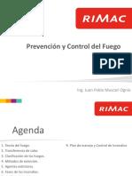 Prevencion y Control Del Fuego