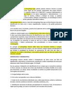 Extracto de La Antropologia Forence Historia