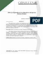 Mito y vanguardia en Los Detectives Salvajes.pdf