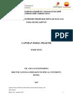 Laporan Kerja Praktik Petrochina International Jabung Ltd Haris Muda