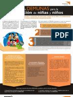 Cartilla Informativa Sobre Las DEMUNAS